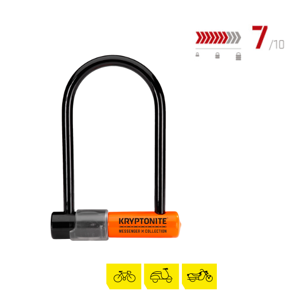 candado para bicicleta kryptonite-messenger-mini