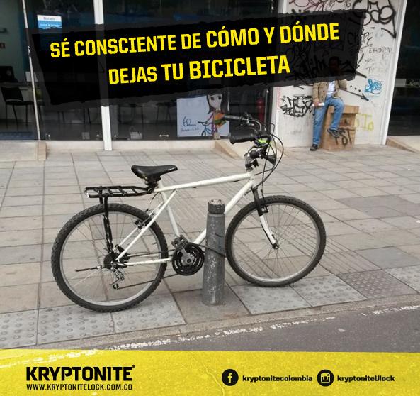 que tan segura esta tu bicicleta