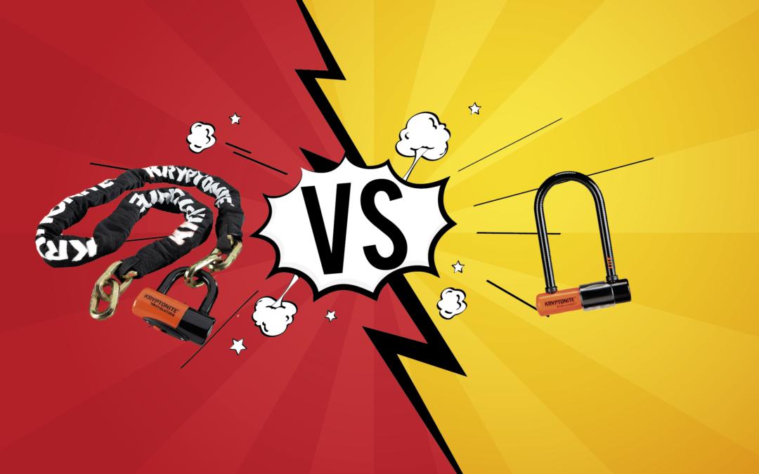 U-lock vs Cadena : ¿Cuál es el mejor?