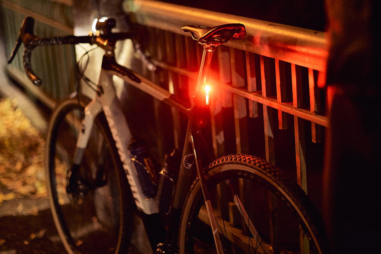 luz trasera para bicicleta